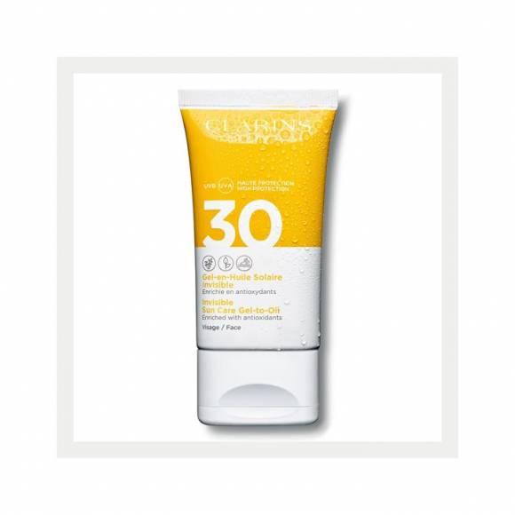 Clarins Suncare Face Gel SPF30 50ML - Yüz İçin Güneş Koruyucu