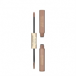 Clarins Brow Duo 02 Auburn Şekillendirici Kaş Maskarası - Thumbnail