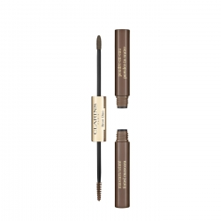 CLARINS - Clarins Brow Duo 04 Medium Brown Şekillendirici Kaş Maskarası