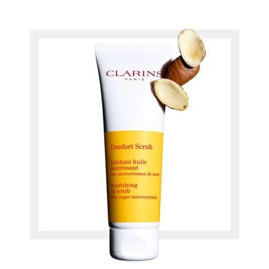 Clarins Comfort Scrub - Clarins Nazik Peeling 100 ml