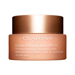 CLARINS - Clarins Extra Firming Day Cream SPF15 Tüm Cilt Tipleri için SPF15 Korumalı Gündüz Kremi 50 ML