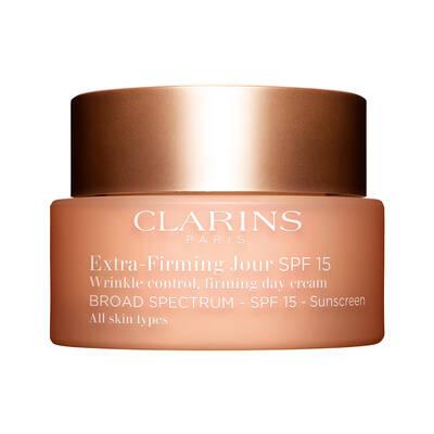 Clarins Extra Firming Day Cream SPF15 Tüm Cilt Tipleri için SPF15 Korumalı Sıkılaştırıcı Gündüz Kremi 50 ML
