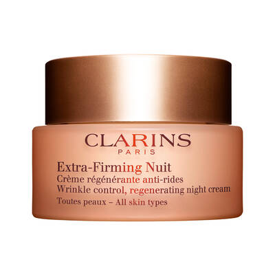 Clarins Extra Firming Night Cream All Skin Types Tüm Cilt Tipleri için Sıkılaştırıcı Gece Kremi 50 ML
