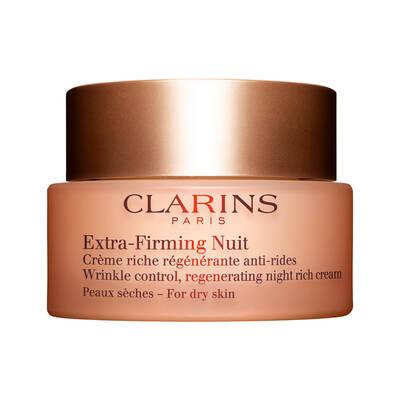 Clarins Extra Firming Night Cream Dry Skin Kuru Ciltler için Sıkılaştırıcı Gece Kremi 50 ML