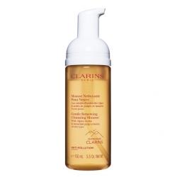 Clarins Gentle Renewing Cleansing Mousse 150 ml - Tüm cilt tipleri için Köpük Temizleyici - Thumbnail