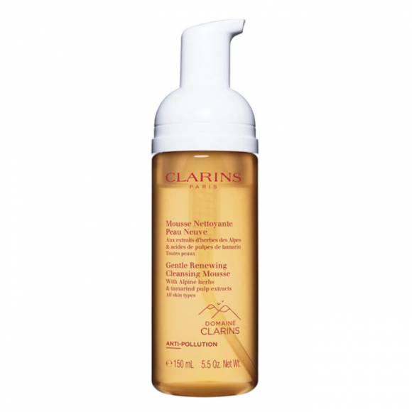 Clarins Gentle Renewing Cleansing Mousse 150 ml - Tüm cilt tipleri için Köpük Temizleyici