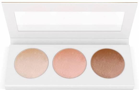 Clarins Highlighter Palette X3 Aydınlatıcı Pudra Set