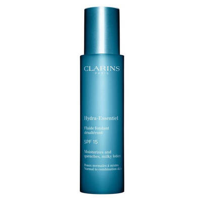 Clarins Hydra Essentiel Spf 15 Milky Lotion Normal To Combination Skin NeMLendirici Losyon 50 ML