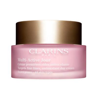 Clarins Multi Active Day Cream All Skin Types Tüm Cilt Tipleri Gündüz Kremi 50 ML