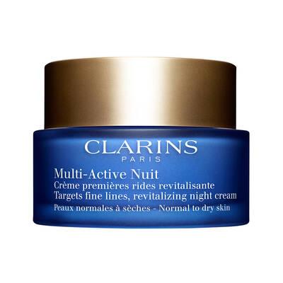 Clarins Multi Active Night Cream Dry Skin Kuru Cilt için Gece Kremi 50 ML