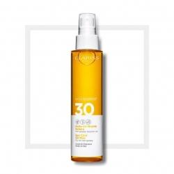 CLARINS - CLARINS Sun Care Body Oil-in-Mist SPF30 150ML - Yağ-Sprey Mist Kıvamında Vücut için Güneş Koruyucu