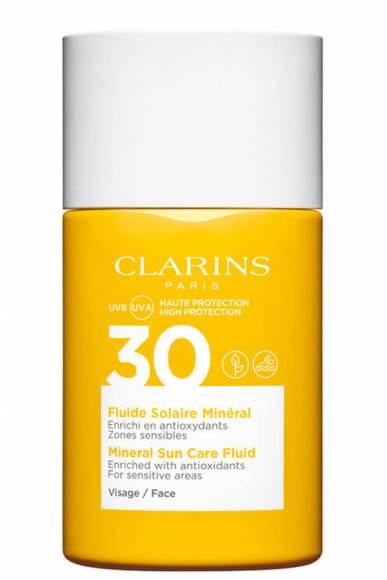 K-Clarins Suncare Face Fluid Spf 30 - Yüz için Güneş Koruyucu