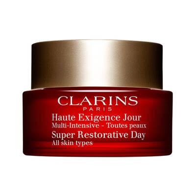 Clarins Super Restorative Day All Skin Types Yaşlanma Karşıtı Sıkılaştırıcı Gündüz Kremi 50 ML