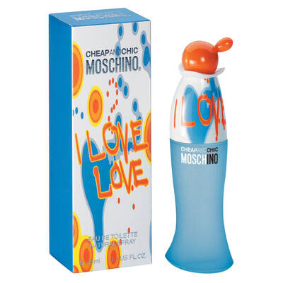 MOSCHINO CHEAP AND CHIC I LOVE LOVE EDT 100 ML